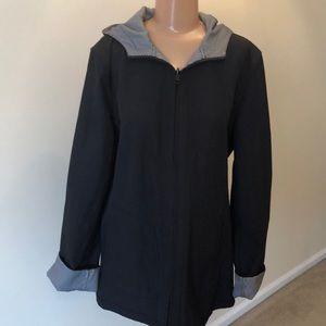 Jackets & Blazers - Reversible Jacket. black/plaid